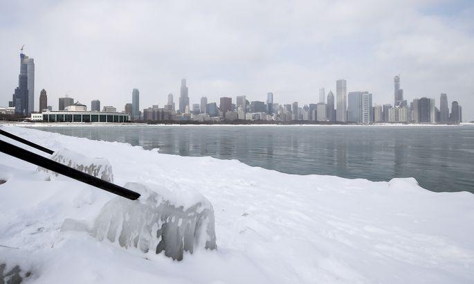 ВСША пришли рекордные арктические морозы, температура опустилась доминус 50 6