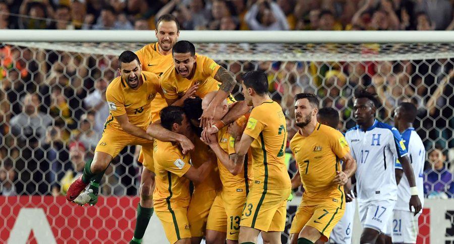 Австралия завоевывает путевку наЧМ пофутболу 2018