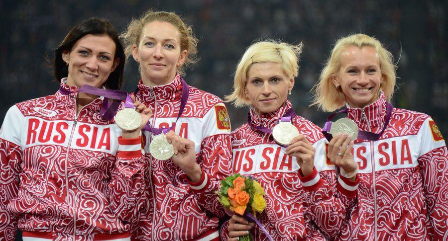 МОК аннулировал результаты русских  легкоатлеток наОлимпиаде-2012 встолице Англии