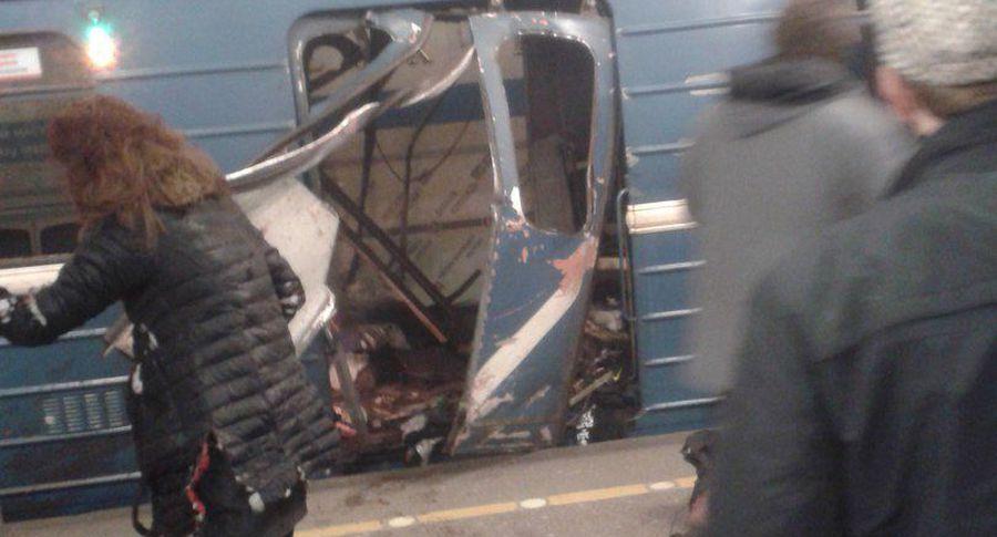После взрывов вПетербурге врозыск объявлены два человека