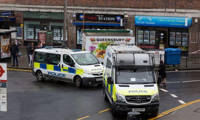 Встолице Англии три человека были атакованы с употреблением кислоты