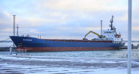 Estonian union has ship seized by court for unpaid wages