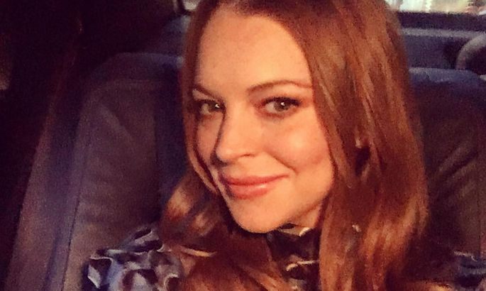 Звезду Голливуда Линдси Лохан ударили полицу в столице России