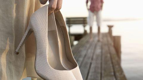 Eriliseks puhuks sobivad kõrged kontsad ideaalselt, kuid jalgadele tuleb ka puhkust anda.