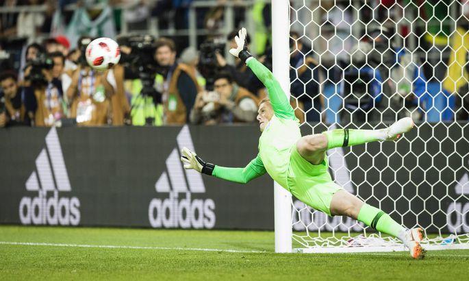 5dbe401abc9 Inglismaa väravavaht võttis penaltiseeriale kaasa maskeeritud spikri ...