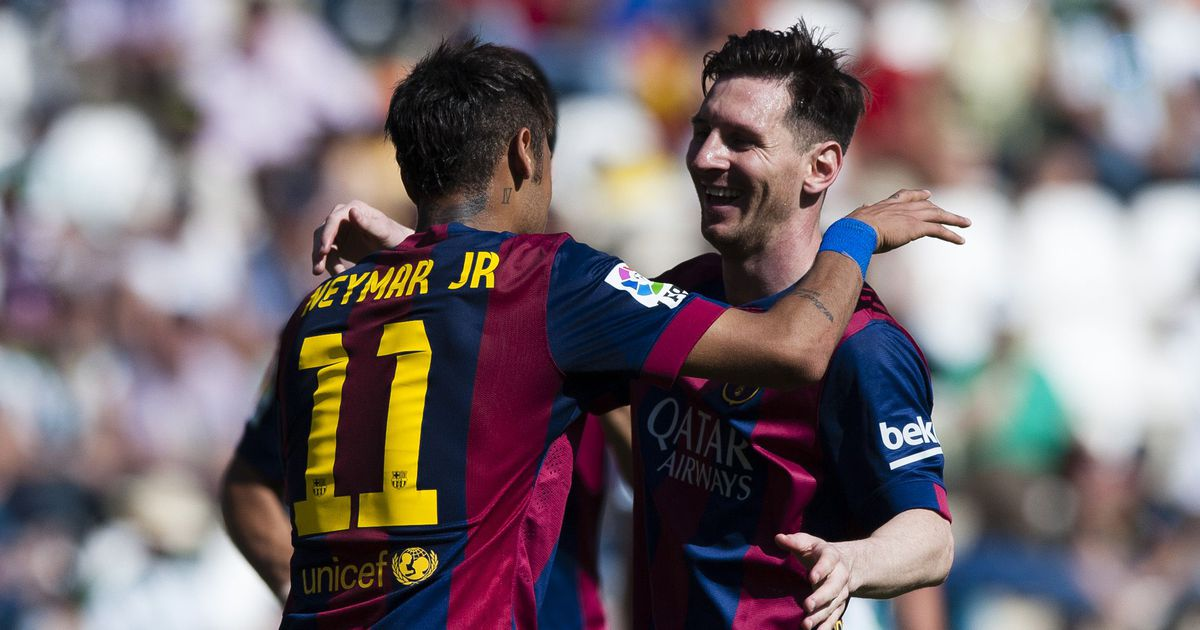 Messi Neymarile: tule tagasi Barcelonasse, ainult nii suudame Meistrite liiga võita