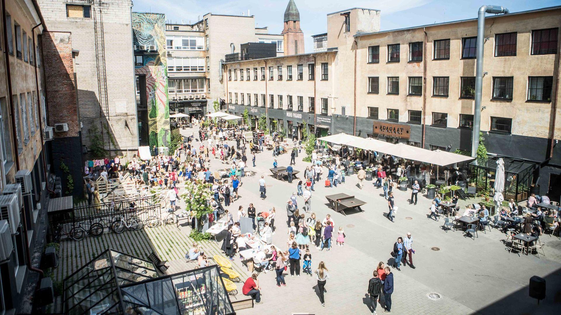 Aparaaditehase festival toob rahva ette Kino laulud ja Tartu hiphopi