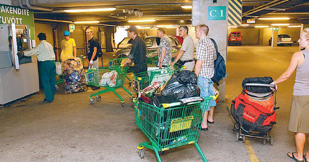 13daacfa8cc Tavatult kuum suvi paneb taara tagastajate kannatuse proovile - Tallinn -  Tänane leht