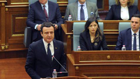 Kosovo parlament kukutas umbusaldushääletusel valitsuse