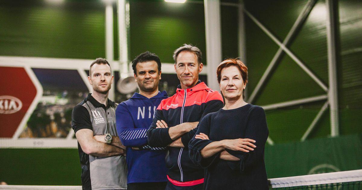 Galerii: eriline tenniselaager toob ikka ja jälle tipptreenerid Pärnu