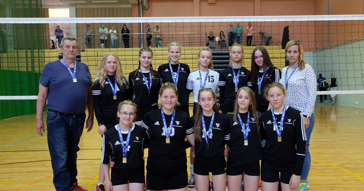 Võru spordikooli neiud tulid Eesti meistriteks