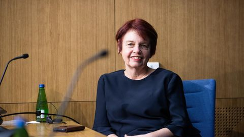 Mikrobioloog ja viroloog Irja Lutsar.
