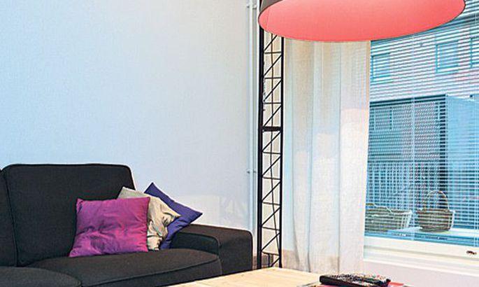 d6fe93a0551 Elu keset ehitustandrit: kraanad akna taga ja Tarmo Luisu disainitud  «Kraana» toas.