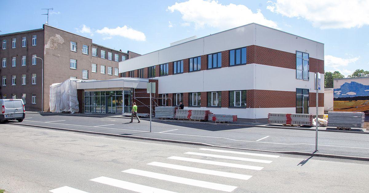 Tervisekeskus valmib, aga arste napib