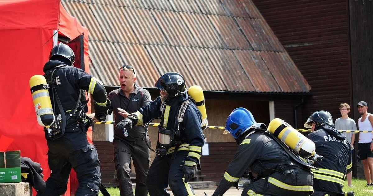 Vändra komando näitas päästjate kutsevõistlusel kõrget taset