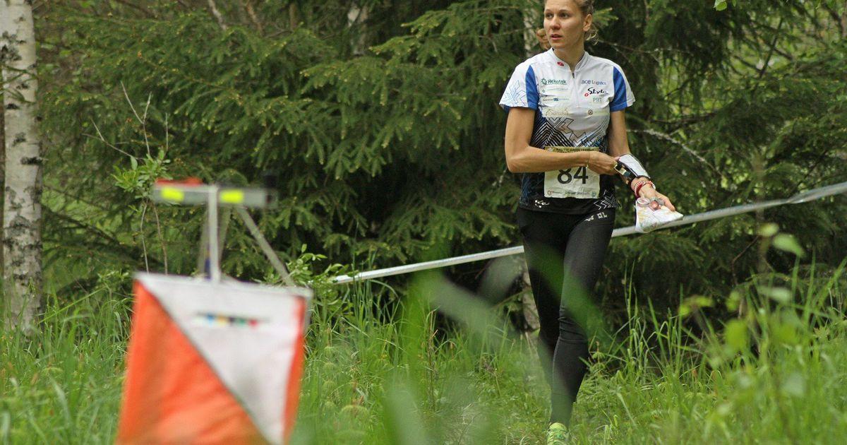Evely Kaasiku jookseb maailmameistrivõistluste finaalis