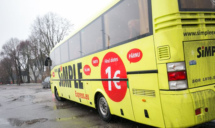 автобусы Simple Express больше не будут обслуживать линию таллинн