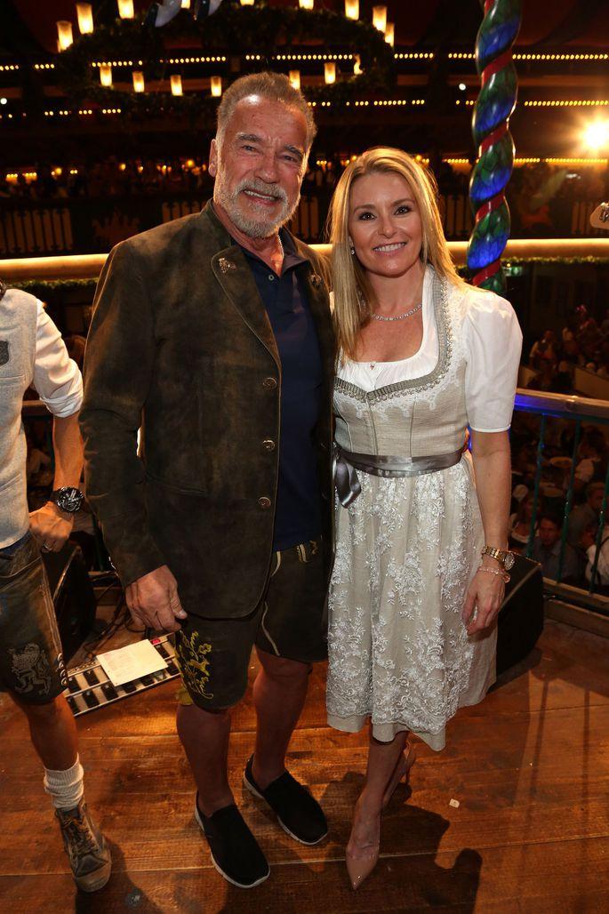 Who is arnold schwarzenegger dating 2018