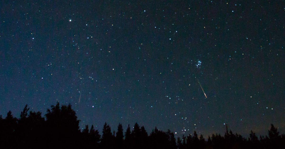Öötaevasse pilgu pööranuid lummab tähesadu
