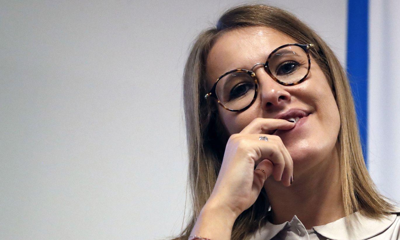 Либералка Собчак назвала чмом россиян, которые носят пуховики и толстовки