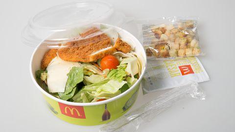 Pakendatud salatid võivad sisaldada rohkem soola ja rasva kui burger.