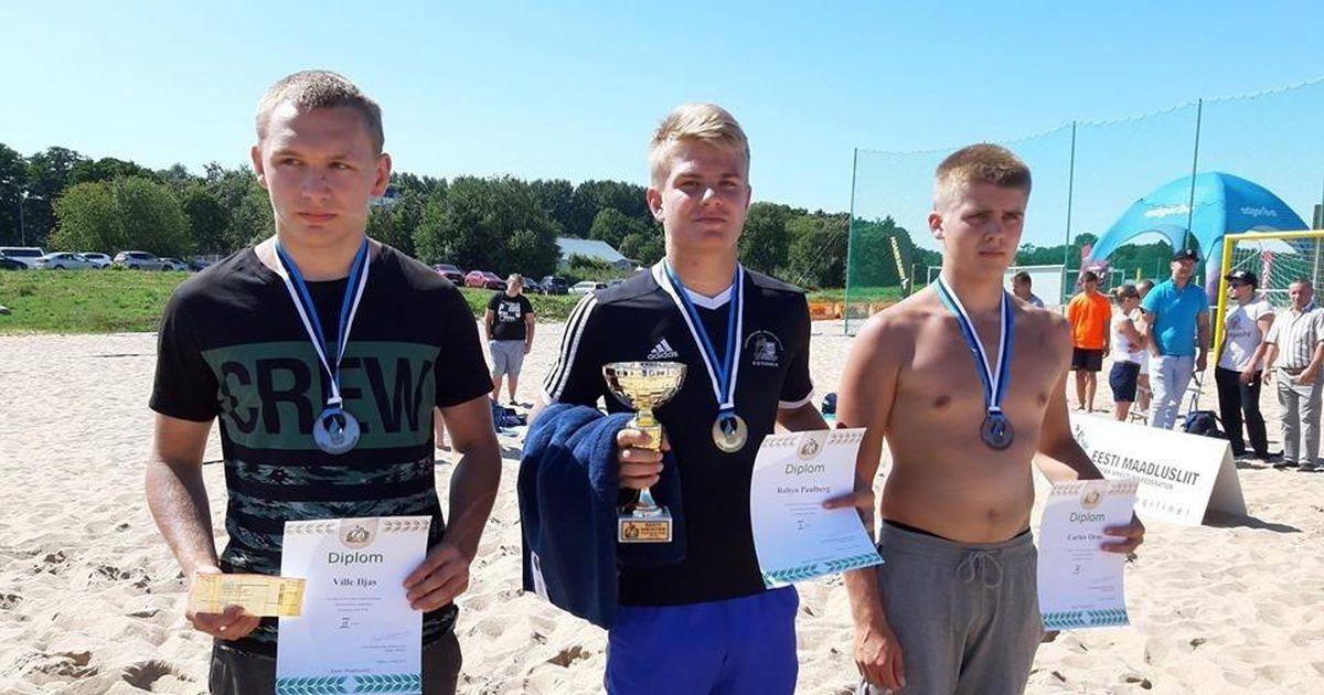 Rannamaadlejad naasid meistrivõistlustelt kolme autasuga