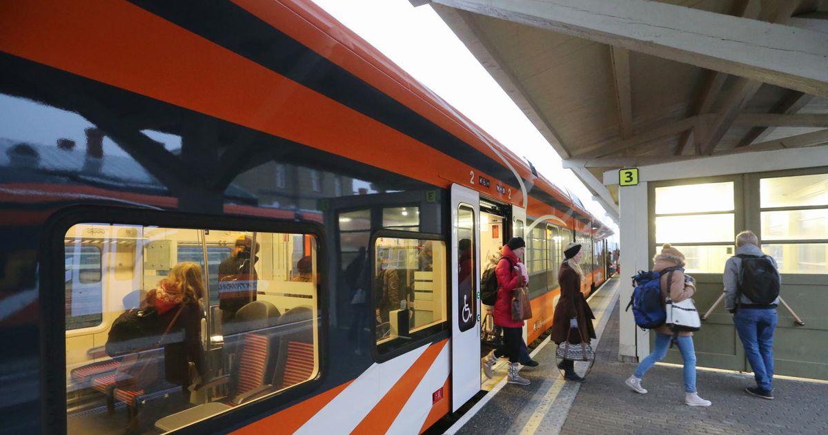 Esimene postkaardi-päkapikk alustab tööd Tallinna–Valga rongis