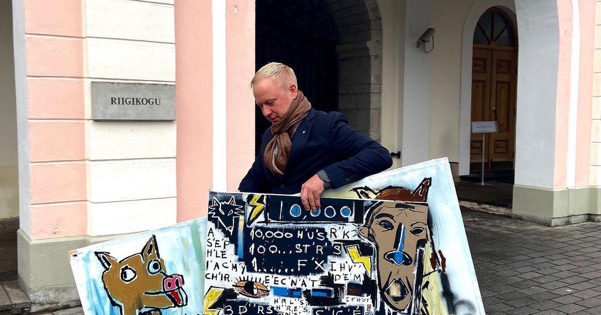 Mart Võrklaev tõi Rae vallast Toompeale kunsti