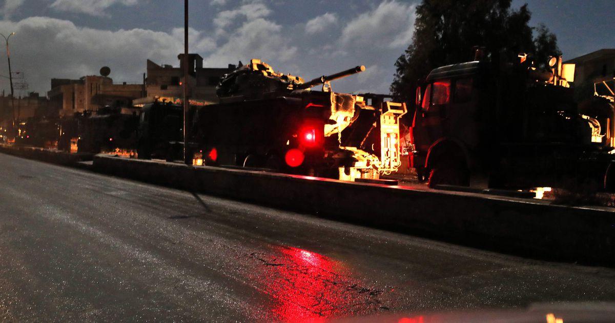 Türgi tugevdab oma kontrollpunkte Idlibis