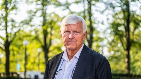 Norra kriisipsühholoog Atle Dyregrov Tallinnas.