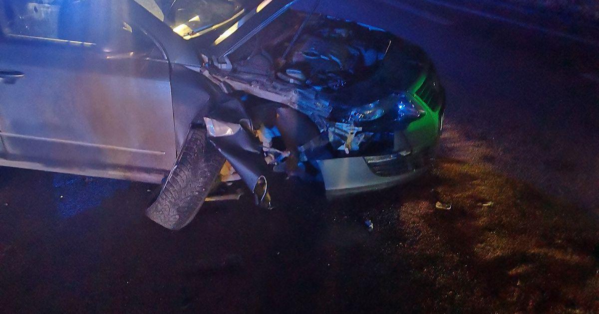 Fotod: Joobetunnustega juht põhjustas Põlvamaal liiklusõnnetuse