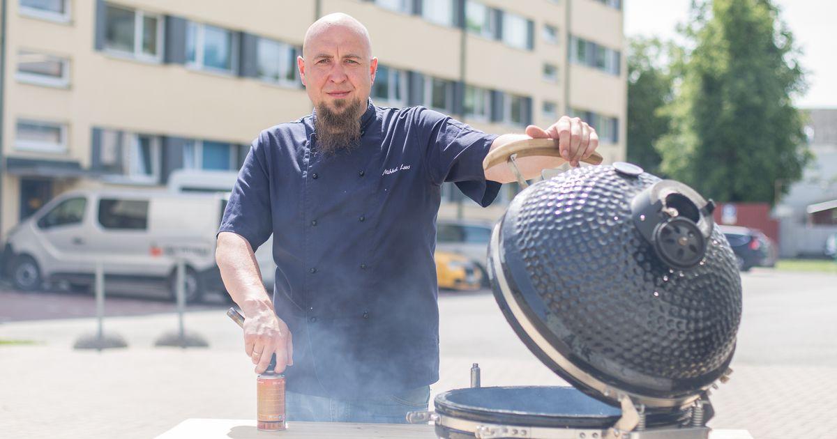Eesti grillimeister pakub jaanipäeval kruubiputru. Grilli teeb ikka ka