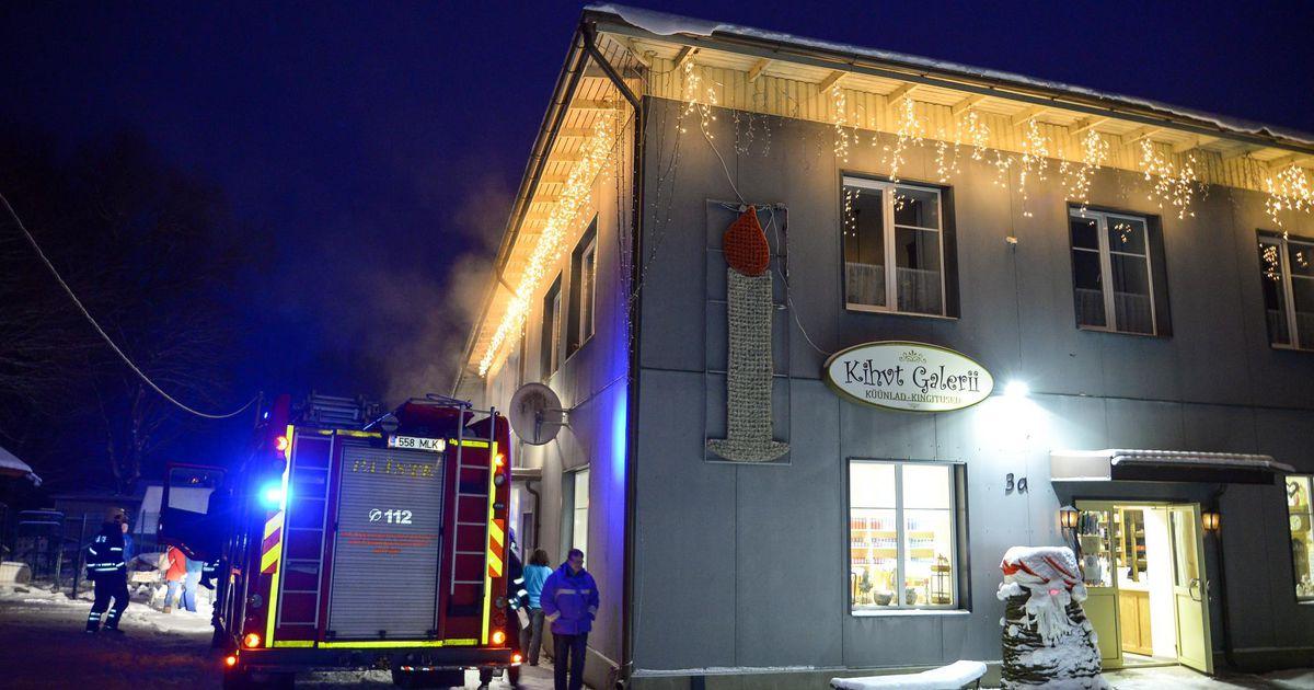 Küünlavabriku põleng osutus õnnelikuks õnnetuseks