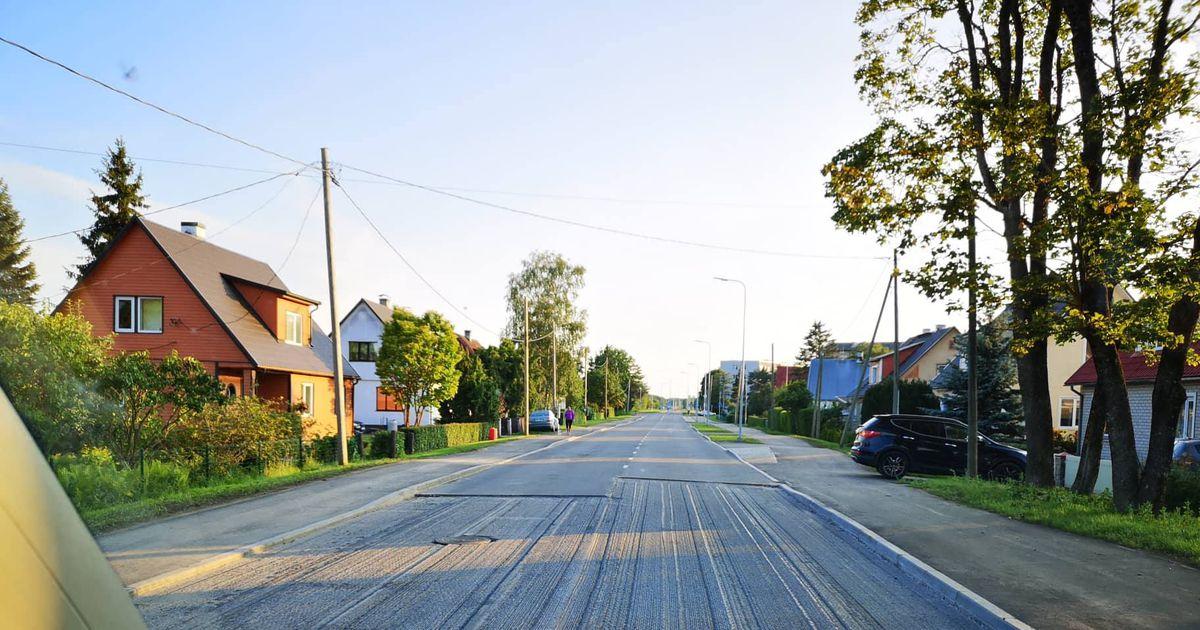 Mündi teelt kooriti garantiiremondiks asfalt maha