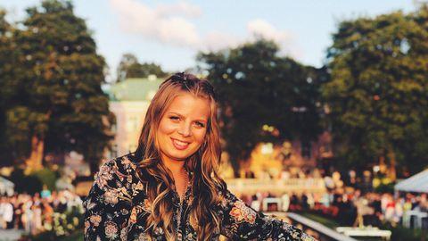 Gretel Murd oli tänavuse Roosiaia vastuvõtu üks külalistest.