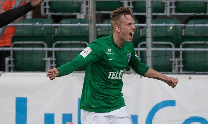 10f923494d5 Martin Miller vahetas kahe hooaja vahel Tammeka sinise särgi FC Flora  rohelise vastu.