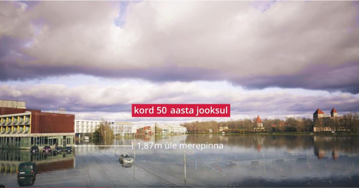 PÄÄSTEAMETI VIDEO: Võimalik üleujutuse tase Kuressaares