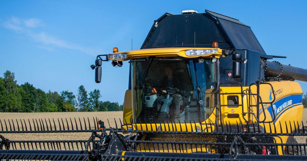 9f588b74300 Kombainid nopivad teravilja hektarilt kuni 10 tonni