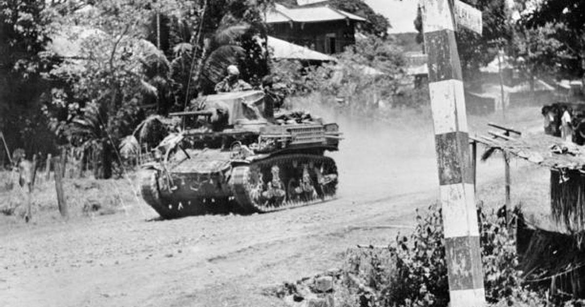 Postimees 1945. aastal: sõda Vaiksel ookeanil: Inglise vägede sissetungimine Rangooni