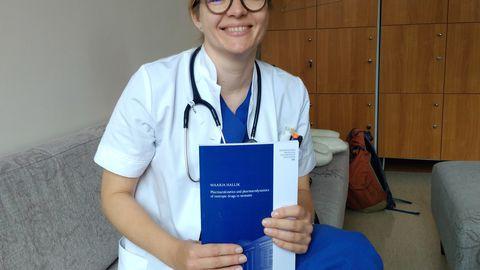 Doktor Maarja Hallik.