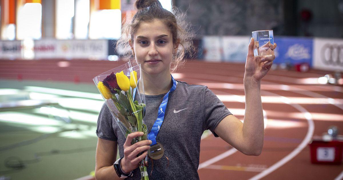 16aastane Sillamäe neiu põrmustas Euroopa karikavõistlustel Eesti täiskasvanute  rekordi