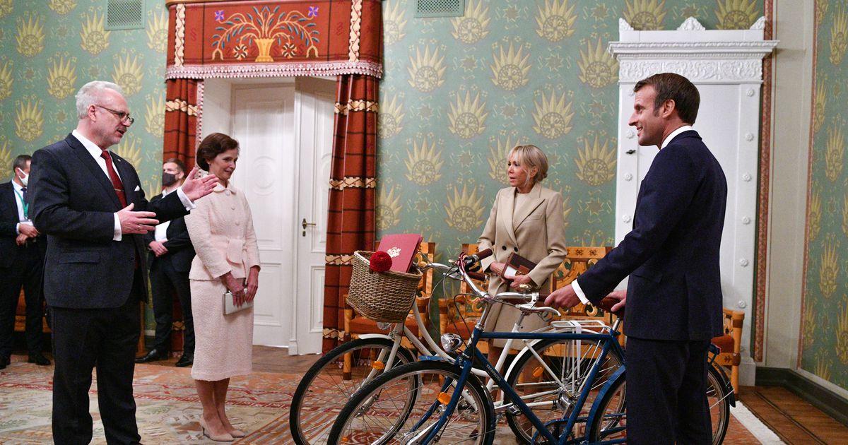 Cik maksā velosipēdi, kurus dāvanā no Levita saņēma...