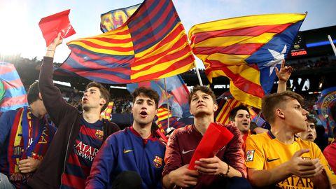 Barcelona fännid võtsid omade toetamiseks kasutusele alatud meetmed