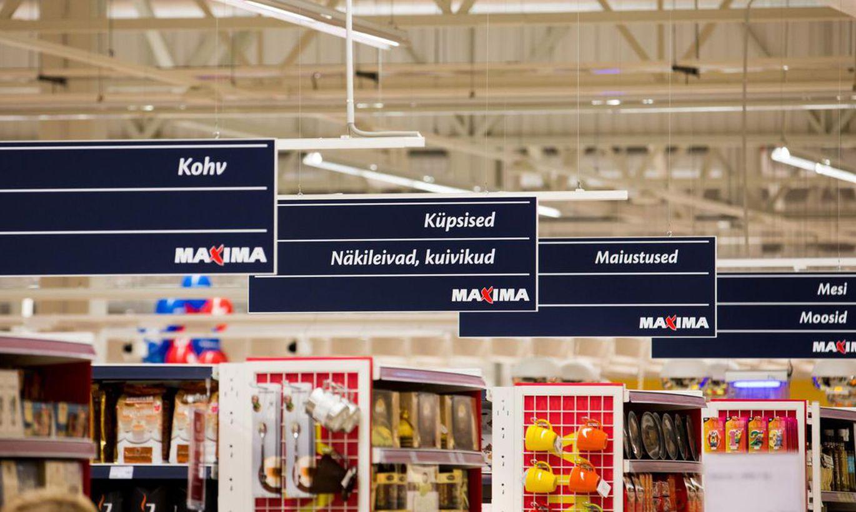 В магазинах Maxima появился первый в Эстонии мобильный пульт для покупок