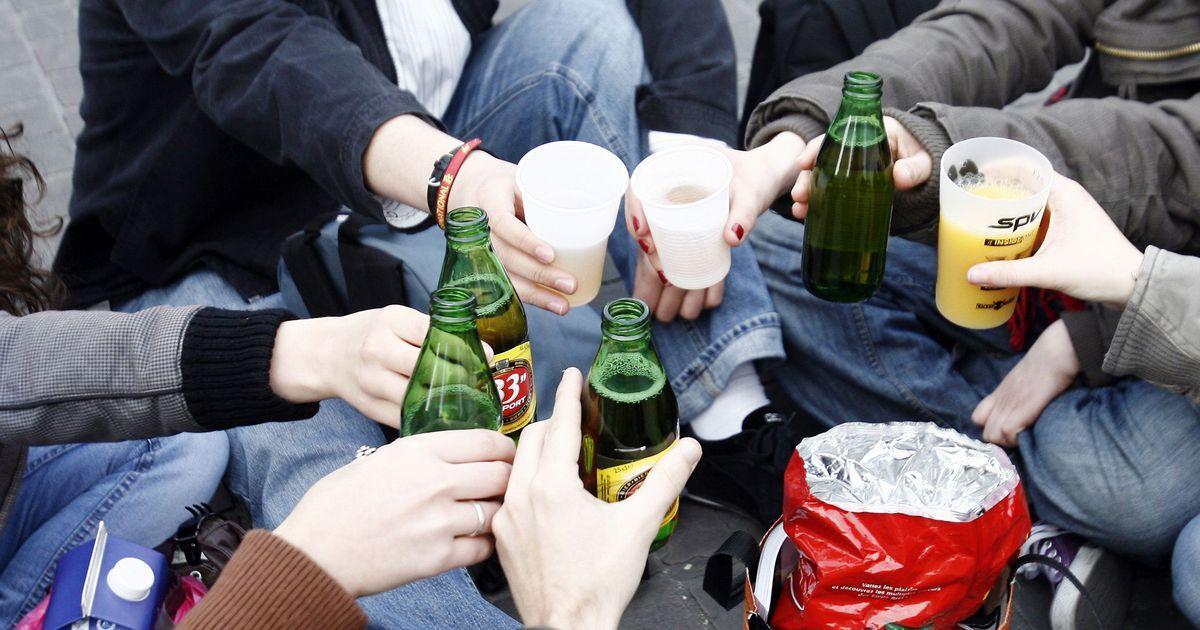 Подростки и алкоголь в картинках