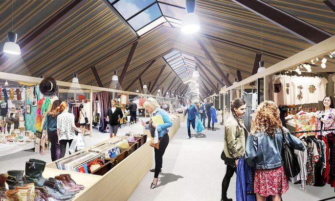d1942726000 Uuenevale Balti jaama turule rajatakse Selveri kauplus - Tallinn ...
