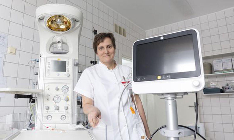 Viljandi haigla sai vastsündinute elusid päästva kingituse: