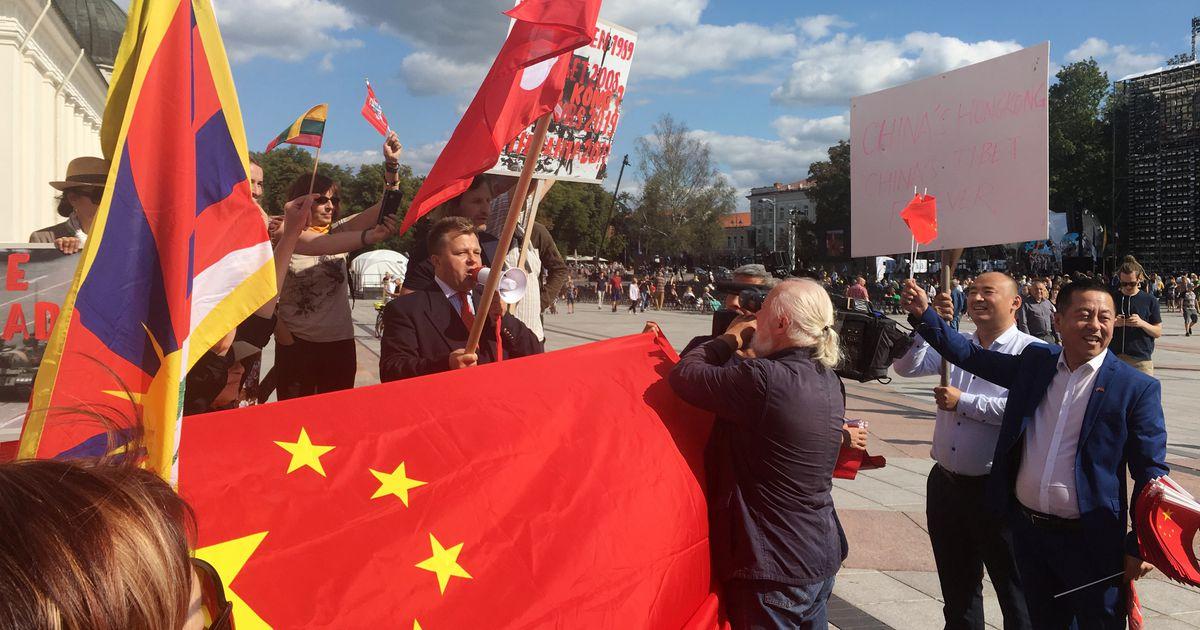 Leedu kutsus Hongkongi toetusmiitingu intsidendi tõttu välja Hiina suursaadiku