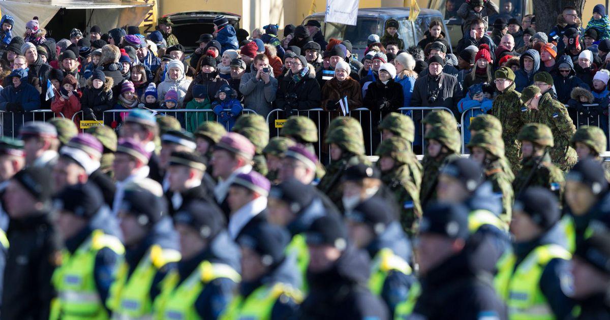 Politsei tähistab Eesti vabariigi aastapäeva piduliku rivistustega