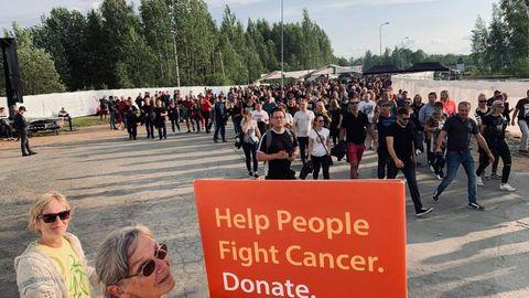 Metallica fännid lisasid fondi koguni 8200 eurot.